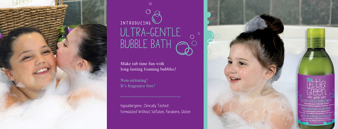 Ultra-Gentle Bubble Bath